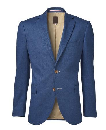 americana: chaqueta para hombre aislado en blanco. con un canal alfa Foto de archivo