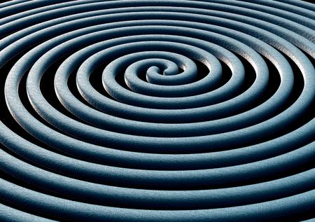 curvature: illustration of Gravitational Waves.