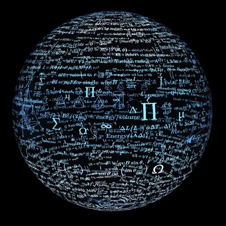 bal faite de formules mathématiques.