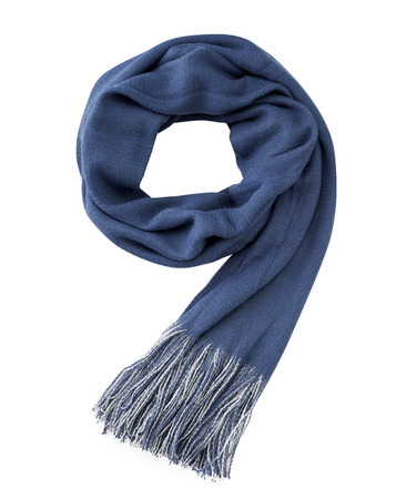 white back ground: scarf isolated on white back ground, with clipping path Stock Photo