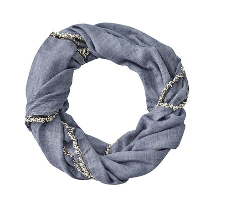 scarf isolated on white back ground, with clipping path Stock Photo