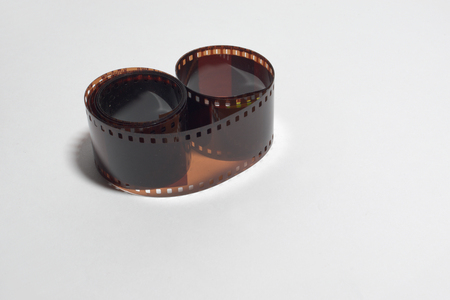 35mm negative developed photo film