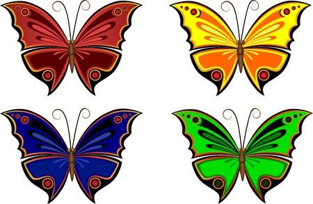 flit: colorful butterflies