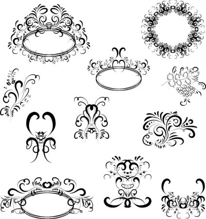 ornaments design Stock Vector - 13966695