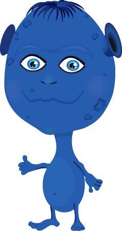 benign: Cartoon Character benign alien