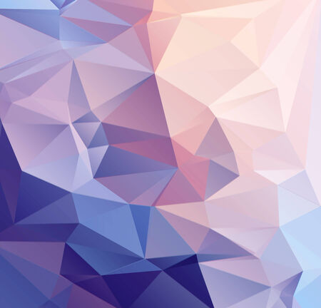 Pastel geometric abstract background   Illustration