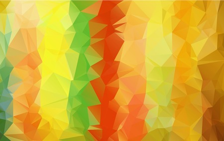 Geometric strips background in autumn colors Illustration