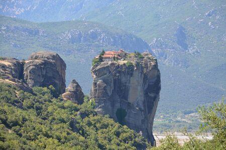 kalambaka: meteora monastery