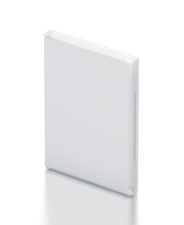 White CD - DVD package   High resolution 3D illustration Stock Illustration - 13049891