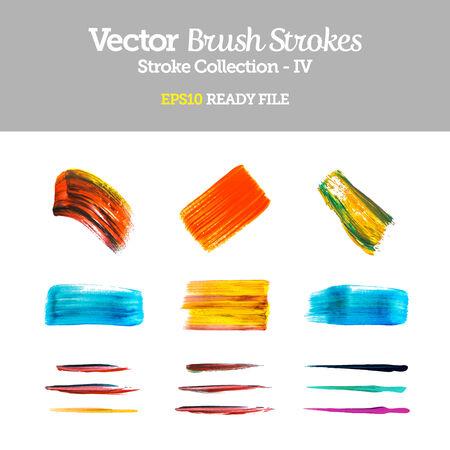 watercolour: Vector Brush Strokes Collection