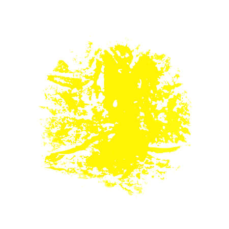 brush stroke: Vector Brush Stroke Yellow