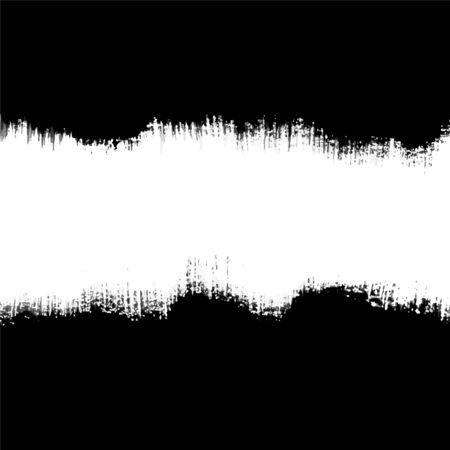 brush stroke: Vector Brush Stroke Black Frame  Illustration