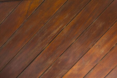 teak wood texture with natural pattern diagonal Stock Photo