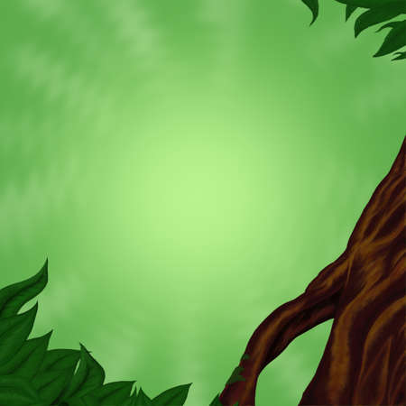 sfondo giungla: Verde astratto jungle background
