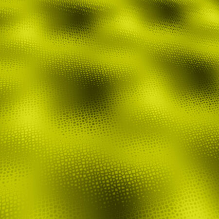 Yellow background texture of cells with 3d effect Stock Photo