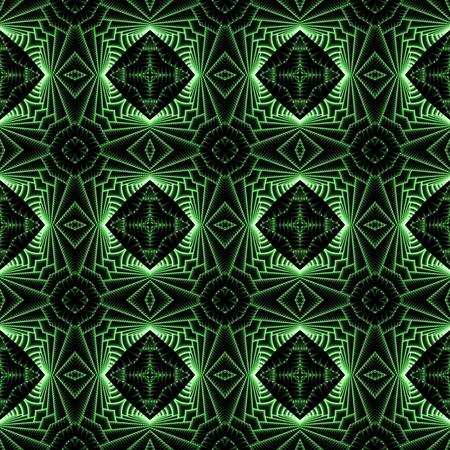 scifi: Abstract seamless green sci-fi tech modern background