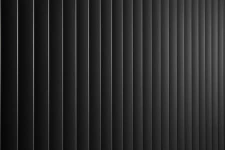 Abstract background with dark metal vertical lines Stock Photo