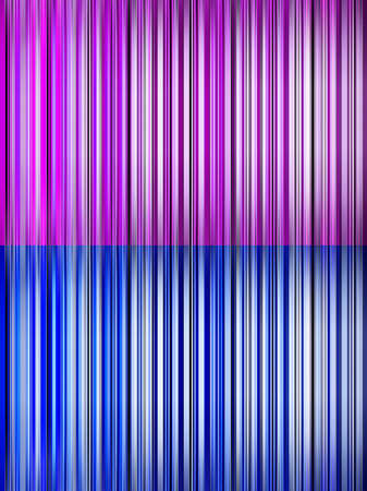 Abstract backgrounds with stripes in two colours blue and pink
