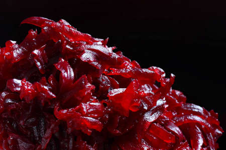 Cloose up of cooked shredded beetroot Stock Photo - 14958589
