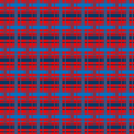 Background with plaid pattern in red and blue colours Stock Photo