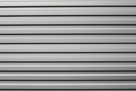 Silver metal background with lines Stock Photo