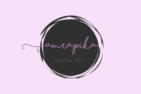 Amrapika - Feminine Logo Template