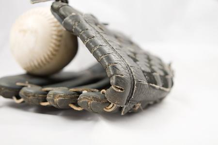 softbol: Bola de Softbol MIT y aisladas en blanco