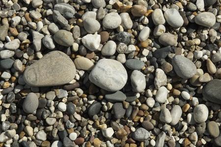beach shingle: Spiaggia di ciottoli