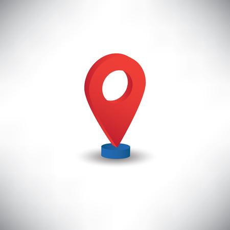 location icon: location icon isomatric