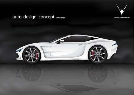 rear wheel: concept sports car