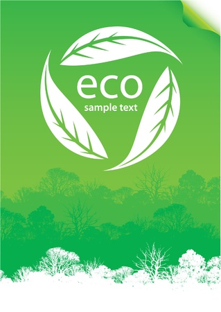 eco forest poster
