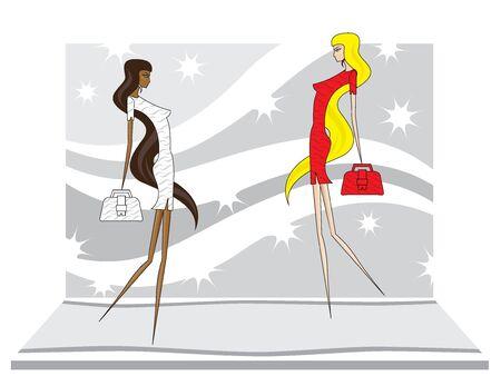supermodel: fashion concept