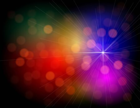 glam: Abstract Colorful Lights background