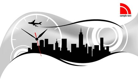 metropolitan: Modern city skyline design