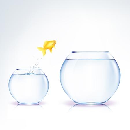 信仰の概念的な飛躍  イラスト・ベクター素材