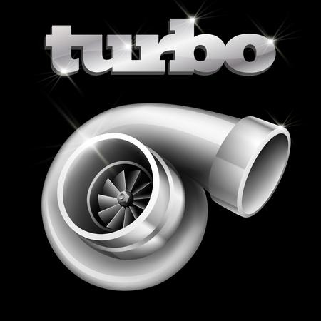 Turbo Compressor voor een auto (EPS10)