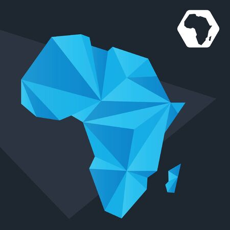 mapas conceptuales: Resumen Mapa de África Vectores