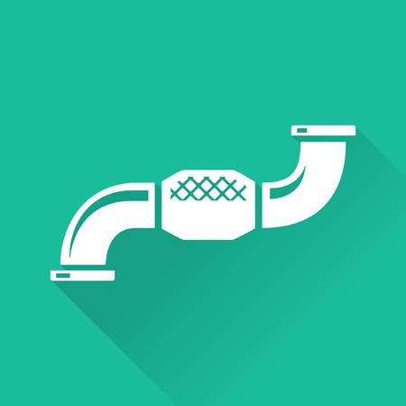 turbo: Vehicle Performance Parts  Turbo Downpipe Icon