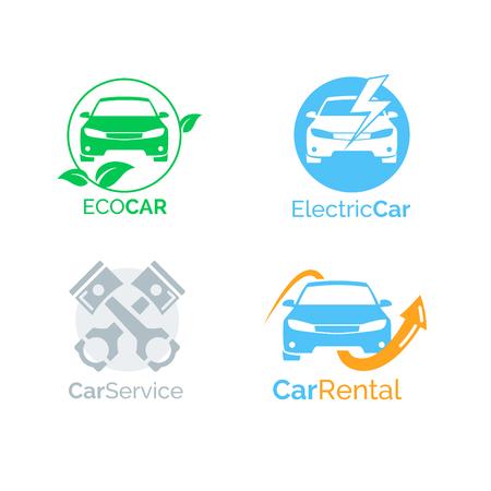 Auto icone del design template vettoriale