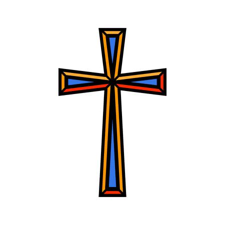 25 866 christian cross stock illustrations cliparts and royalty rh 123rf com christian cross clipart free christian cross clipart free