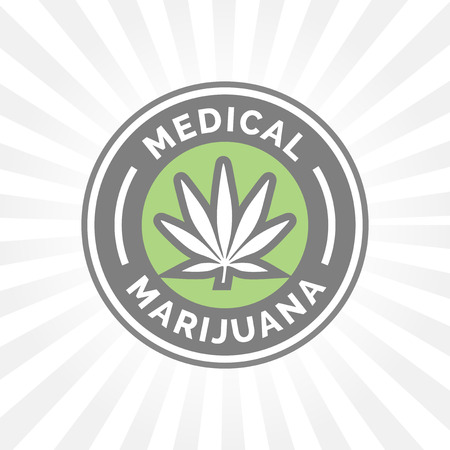 hashish: Medical Marijuana icon design with Cannabis hemp leaf symbol.