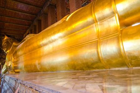 Golden reclining buddha, Thailand