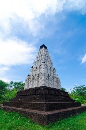 Pagoda on the grass
