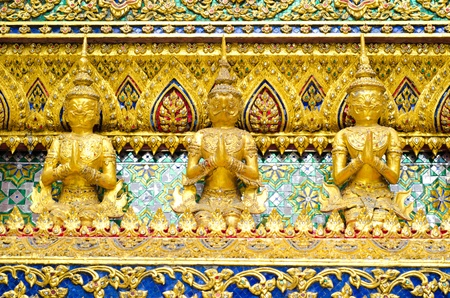 Angel Buddha in Grand Palace, Bangkok, Thailand
