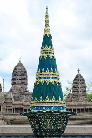Green Pagoda in Grand palace - Bangkok