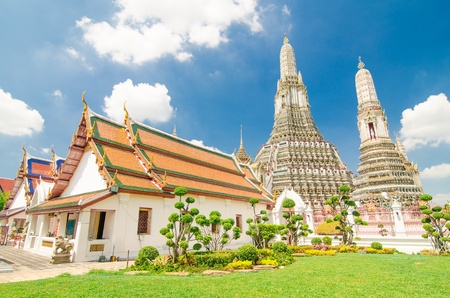The Temple of Dawn, Wat Arun in Bangkok, Thailand Stock Photo
