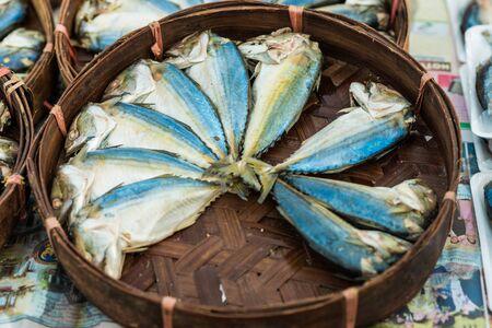 meat and alternatives: Fresh sea fish on display at a fish market