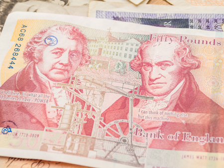 swiss franc note: Pound currency background,  Currency of the United States
