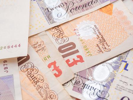 pieniądze: Funt waluty tło, waluty Stanów Zjednoczonych Zdjęcie Seryjne