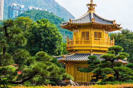 absolute: Pavilion of Absolute Perfection in the Nan Lian Garden, Hong Kong.